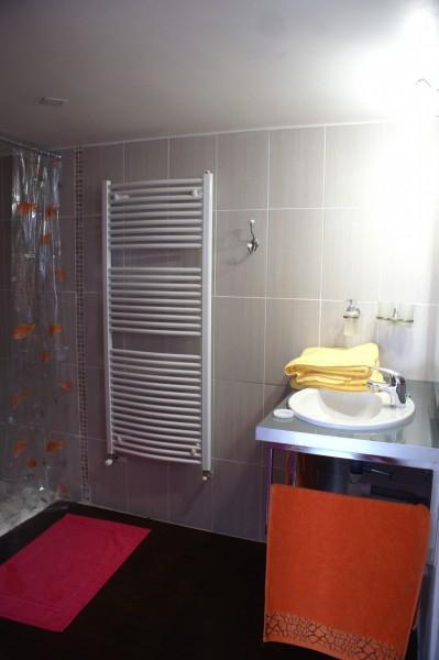 Salle d'eau et douche à l'italienne