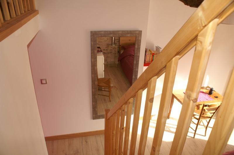 Escalier et miroir ( Pivoine)
